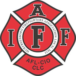 Murfreesboro Firefighters Association Retina Logo